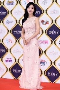 [HEI포토] 이세영, '핑크빛 드레스 입고 깜찍하게~' (KBS 연예대상)