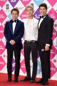 토니안-허지웅-박수홍, 앞으로도 '미우새' 사랑해 주세요~ (SBS 연예대상)