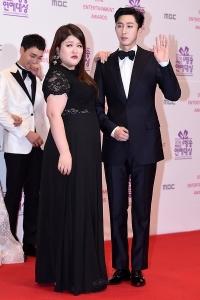 이국주-슬리피, '시선 강탈 커플~' (MBC 방송연예대상)