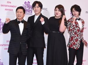 이수근-존박-이국주-김희철, '은밀하게 위대하게' 사랑해 주세요~ (MBC 방송연예대상)