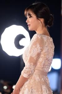송혜교, '옆모습만 봐도 감탄나와~' (KBS 연기대상)