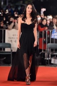 한고은, '블랙 드레스 입고 우아하게~' (KBS 연기대상)