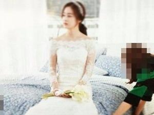 '결혼 D-1' 김태희, 웨딩드레스 입고 포착 된 모습이…