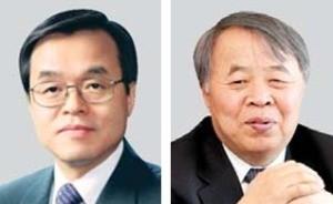 서정선 회장(왼쪽), 김완주 회장