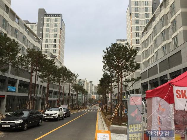 서울시 성동구 하왕십리동 왕십리뉴타운에 들어선 센트라스아파트단지. (사진=김정훈 기자)