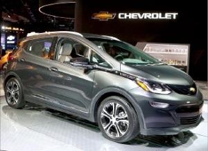 북미 올해의 차…GM 전기차 볼트