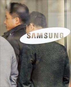 이재용 삼성전자 부회장이 특검에 소환된 12일 서울 삼성 서초사옥 모습.