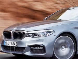 BMW 신형 5시리즈, 모든 라인업에 차선 유지 등 반자율주행기술