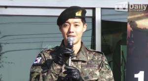 """제대 소감 전한 김현중 """"인생의 후반전 시작하는 기분"""""""
