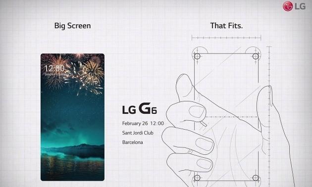 LG전자가 지난 7일 세계 각국 기자에게 보낸 차기 전략 스마트폰 LG G6 공개 행사 초청장. 한국경제DB