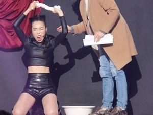 '개콘' 오나미, 현아 덤벼!…복근+허벅지 드러내고 패왕색 매력