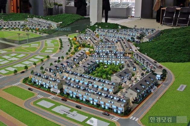 '자이더빌리지' 모델하우스 내부 모습. GS건설 제공