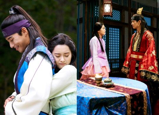 '화랑' 박서준-박형식 두 남자의 사랑 받은 고아라의 선택은?