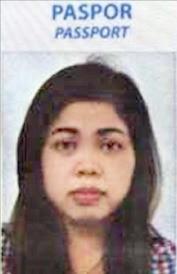 김정남을 살해한 혐의를 받고 있는 인도네시아 국적 여성 용의자 '시티 아이샤'. AP연합뉴스