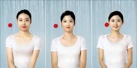 유세린 피부탄력 실험 광고