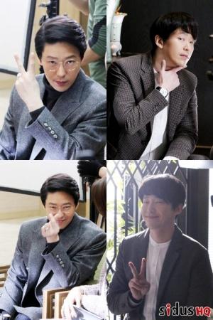 엄기준, '피고인' 촬영 비하인드… 악역 아닌 귀요미