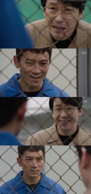 """'피고인' 엄기준, 지성에 """"네 딸 찾는 시합할까?"""" 도발"""