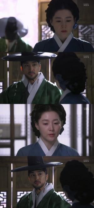"""'사임당' 이영애, 송승헌에 """"도움 받을 수 없다"""""""