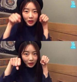 """'V앱' 달샤벳 수빈 """"드림캐쳐 다미, 제일 섹시해"""""""