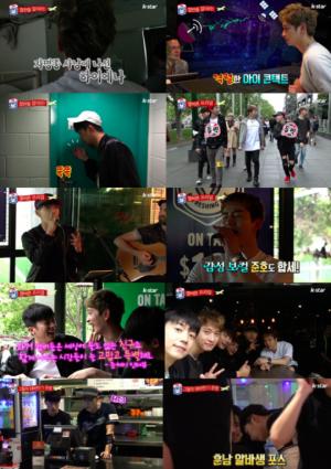 '와일드 비트' 2PM, 호주에서 선보인 카페 버스킹 '인기 실감'