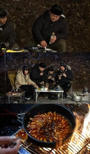 '아찔한 캠핑' 김준현, 먹방요정→요섹남 변신