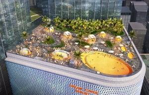[제주드림타워 호텔레지던스①규모]최고 38층 랜드마크…호텔 750실·레지던스 850실