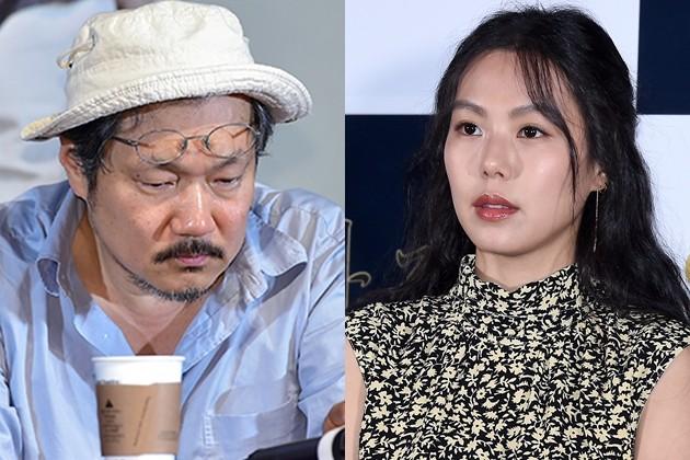 홍상수 감독, 김민희 (사진=한경닷컴 DB)
