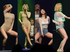걸그룹 아닌데 이정도…'동공확장' 춤사위