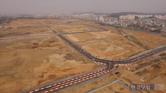 고덕국제신도시 전경. GS건설 제공