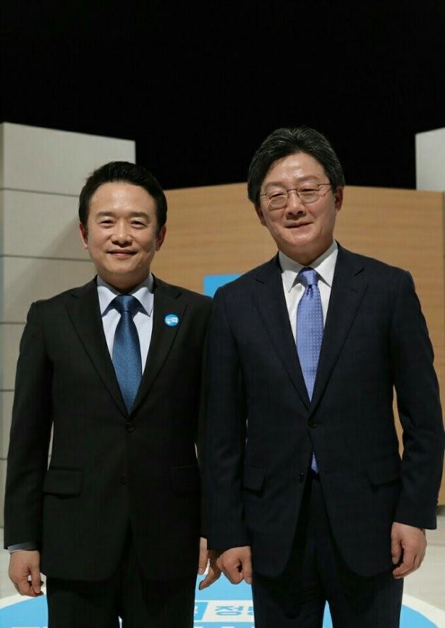 바른정당 남경필 의원(사진 왼쪽)과 유승민 의원
