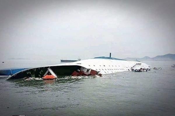 세월호. 사진 해양경비안전본부