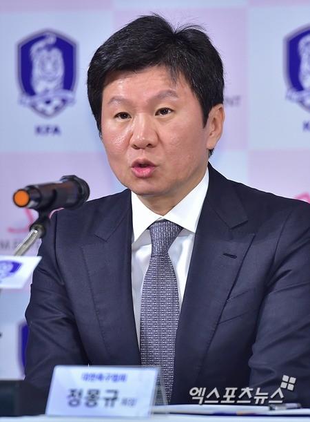 정몽규 대한축구협회 회장. 엑스포츠 제공