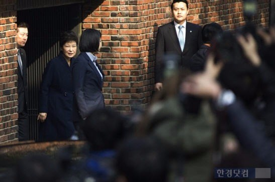 박근혜 전 대통령 검찰조사(사진=최혁 기자)