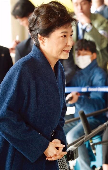 박근혜 전 대통령. 한경DB