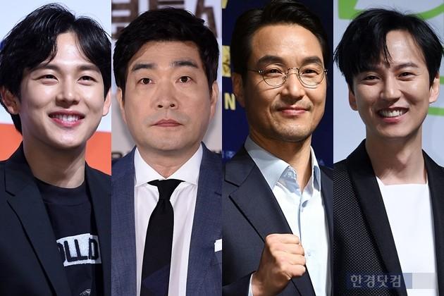 영화 '어느날' 김남길, '보통사람' 손현주, '프리즌' 한석규, '원라인' 임시완 /사진=한경DB