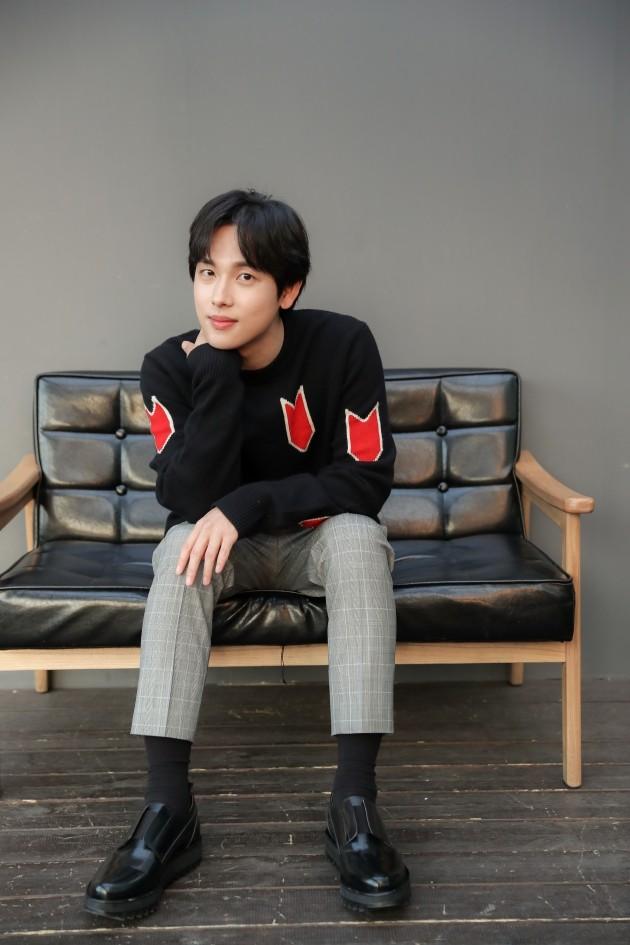 영화 '원라인'에서 민재 역을 맡은 임시완이 23일 서울 팔판동 한 카페에서 인터뷰를 진행했다.(사진=NEW 제공)