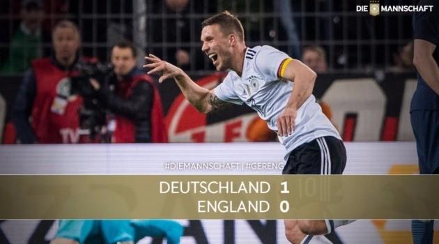 포돌스키. 독일 축구협회 트위터