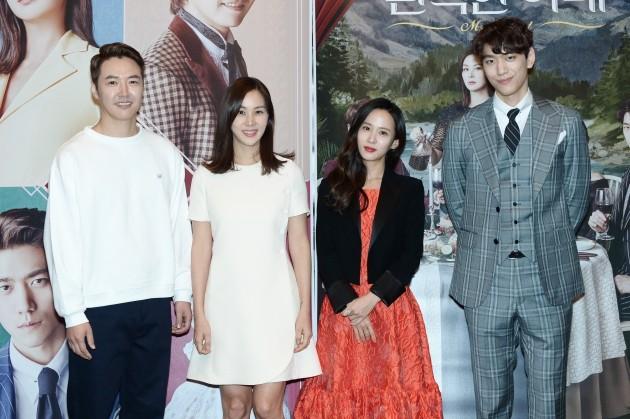 '완벽한 아내' 고소영, 조여정, 성준, 윤상현 /사진=KBS 제공