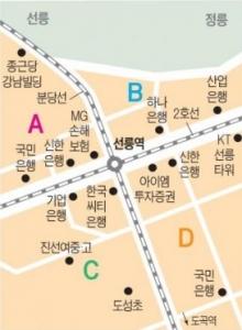 선릉역 사거리 인근 중소형 빌딩 실거래 사례 및 추천매물
