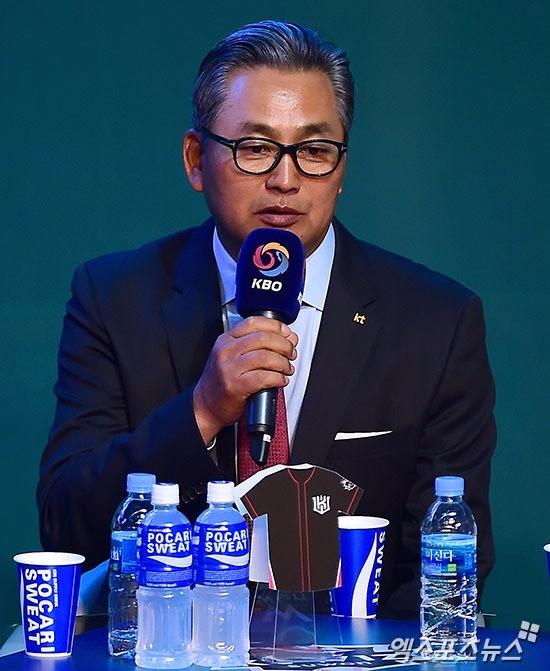김진욱 kt 위즈 감독. 엑스포츠 제공