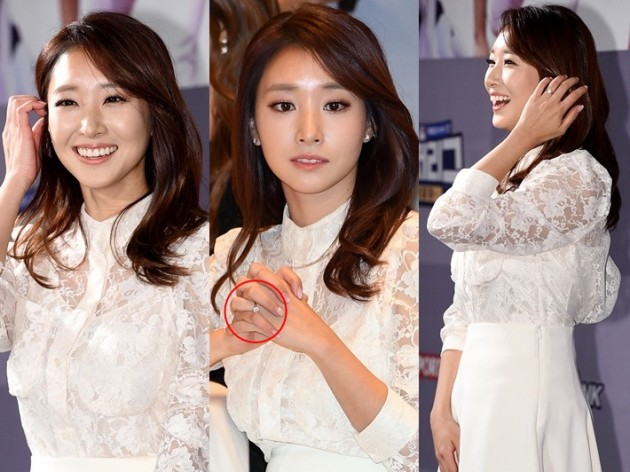 김선신, 빛나는 다이아로 증명한 남편의 크나큰 ♥