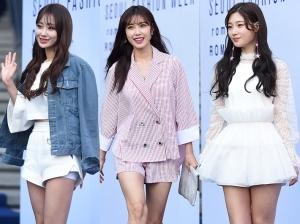 패션위크 찾은 '세젤예' 각선미녀들