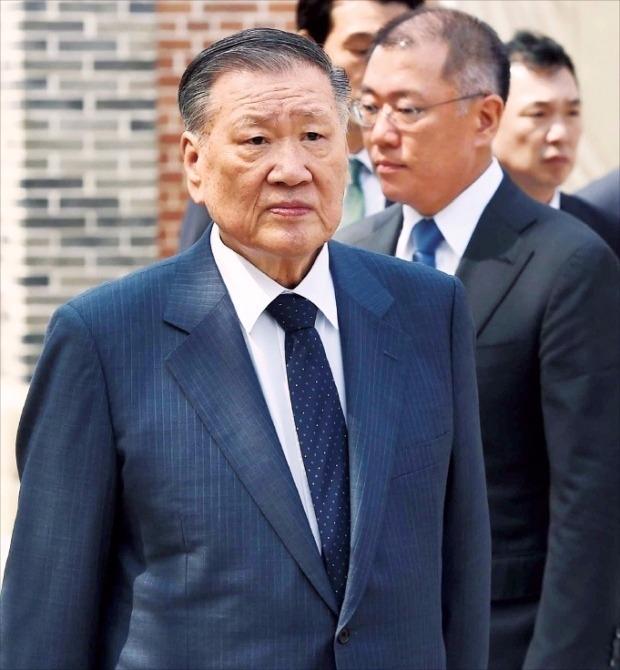 '거수기' 국민연금, 정몽구 회장 이사선임안 주목