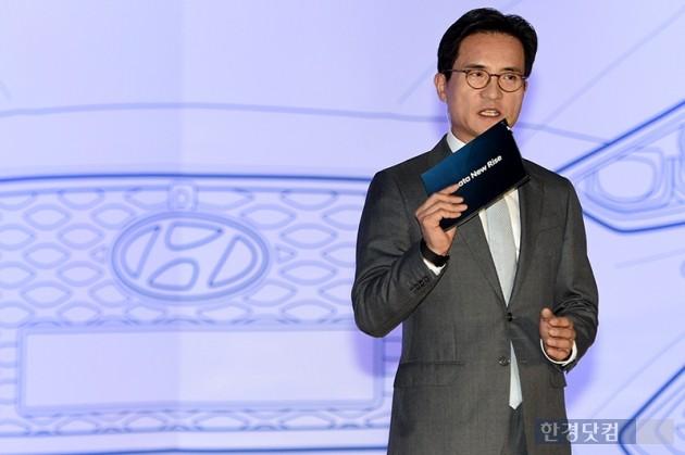 현대자동차가 8일 오전 서울 동대문디자인플라자(DDP)에서 LF 쏘나타 페이스리프트 모델인 '쏘나타 뉴 라이즈' 출시기념 행사를 가졌다. / 최혁 한경닷컴 기자 chokob@hankyung.com