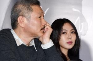 홍상수-김민희, '무슨 생각 하실까'