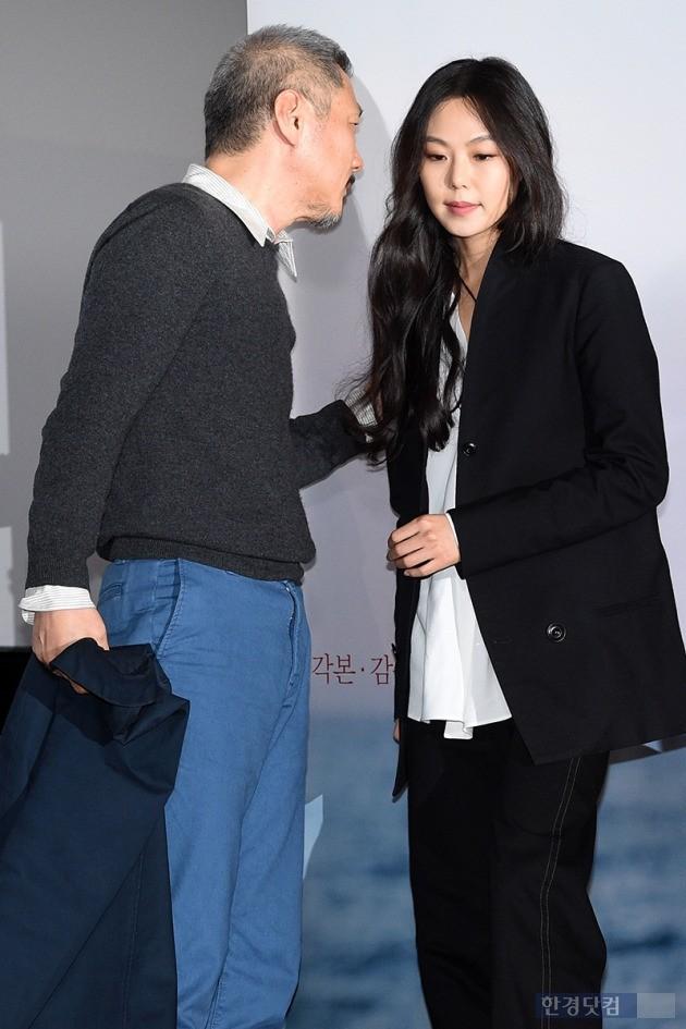홍상수-김민희, '그들만의 대화'