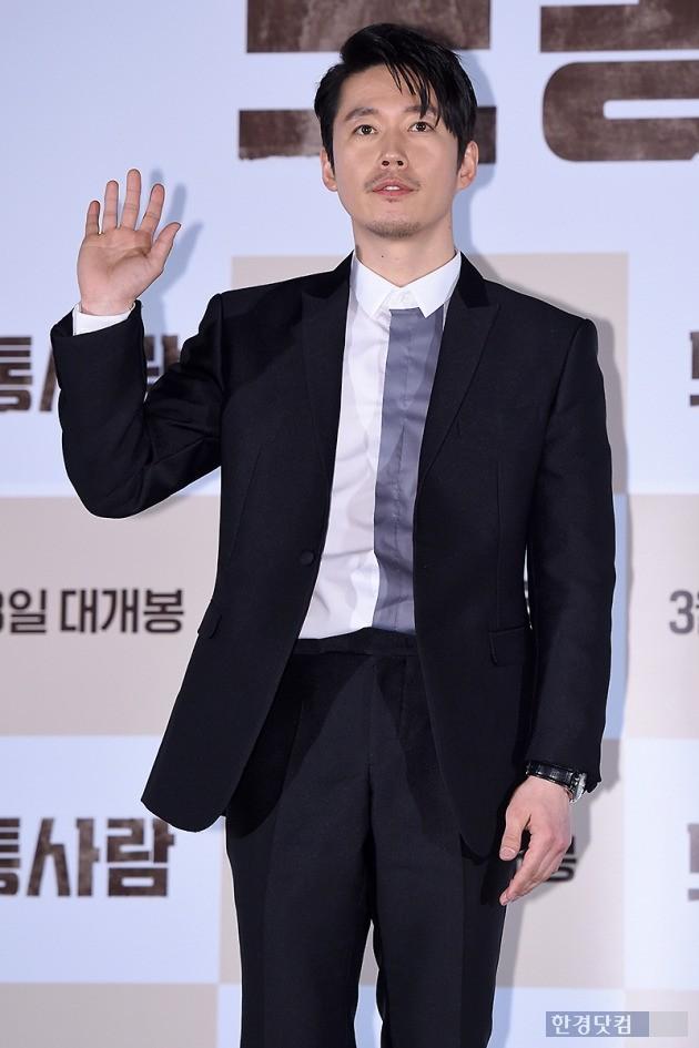 영화 보통사람 언론시사회에 참석한 장혁, 사진/ 변성현 기자 byun84@hankyung.com