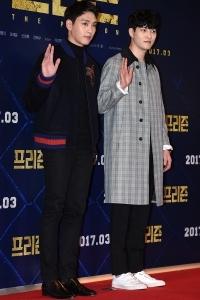 최태준-이종현, '두 훈남의 영화관 나들이'