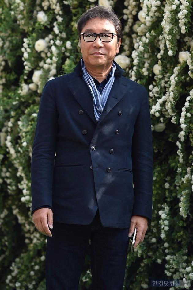 바다 결혼식에 참석한 이수만 회장 / 사진 = 변성현 기자