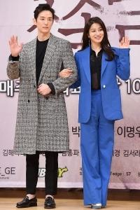 [HEI포토] 권율-박세영, '잘 어울리는 선남선녀'